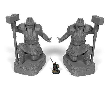 Dwarven Terrain: Dwarf Statues
