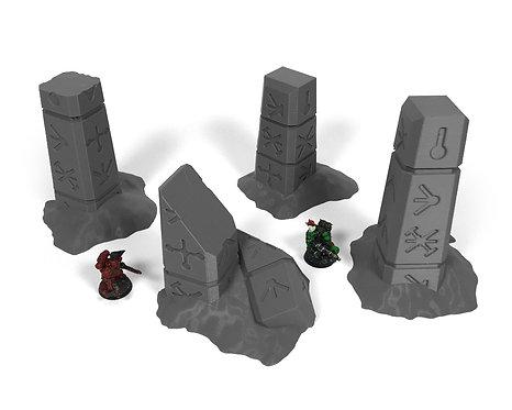 Ancient Alien Ruins: Pillars