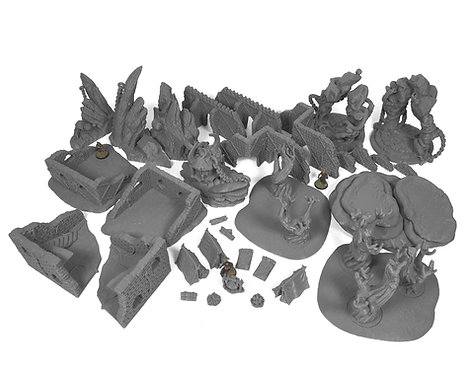 6x4 Stormguard Undone Terrain Table Bundle