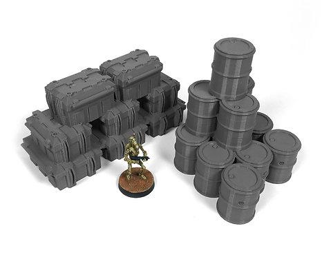 Sci-Fi Terrain:Piled Supplies