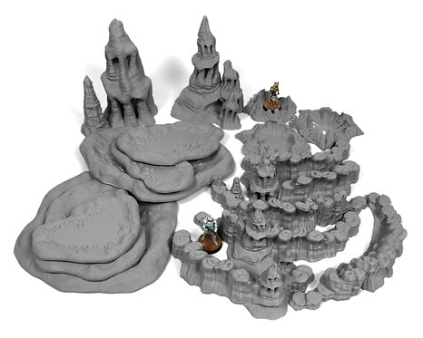 Exo-Planet Terrain: Scatter Bundle