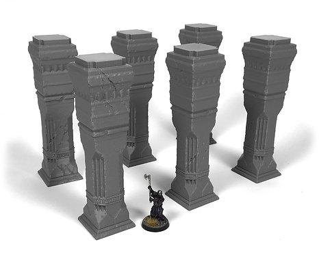Dwarven Terrain: Third Hall Pillars