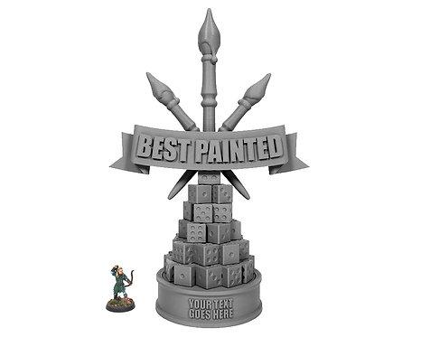 Best Painted Trophy