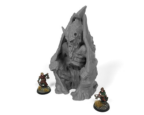 Stormguard Undone Cursed Statue