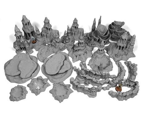 6x4 Exo-Planet Terrain: Table Bundle