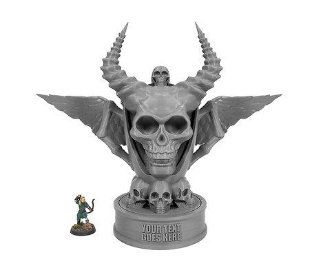 Winged Skull Trophy