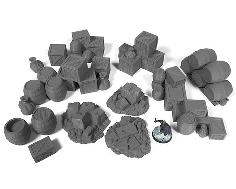 Stormguard Rubble and Cargo