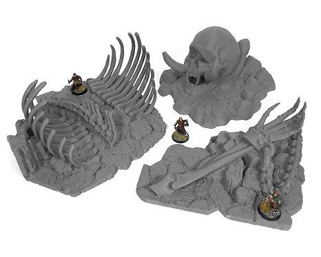 Stormguard Undone Terrain: Fallen Giant Bundle