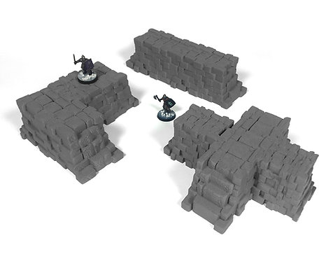 Stormguard Defensive Walls Set 1