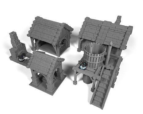 Stormguard Terrain Buildings Bundle
