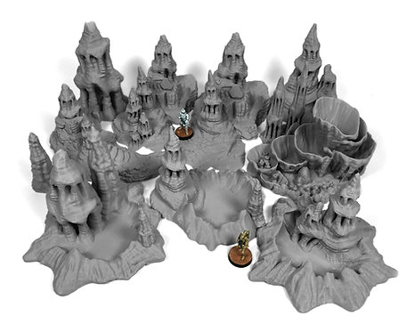 Exo-Planet Terrain: Spire Bundle
