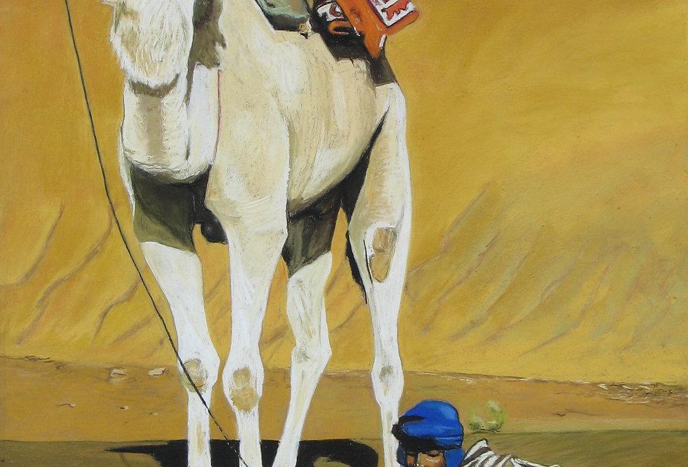 Petit garçon au chameau