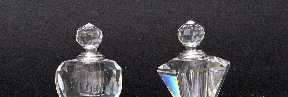 Deux petits flacons parfum