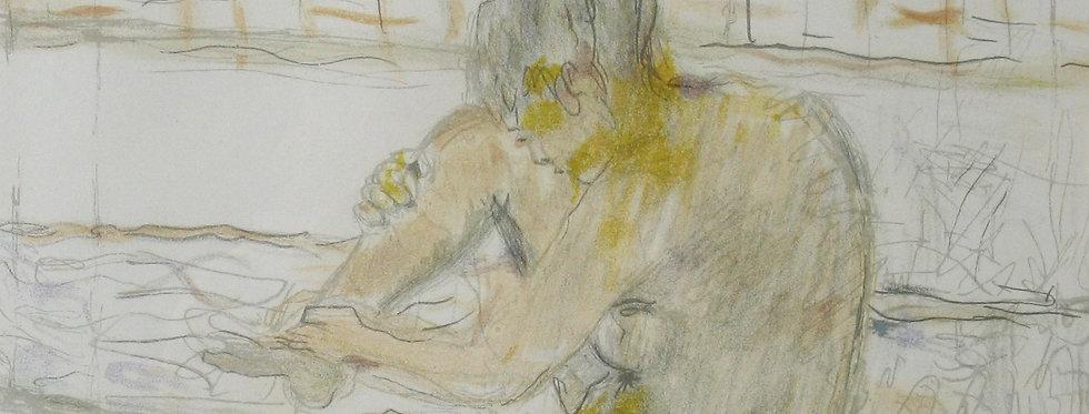 Femme au bain