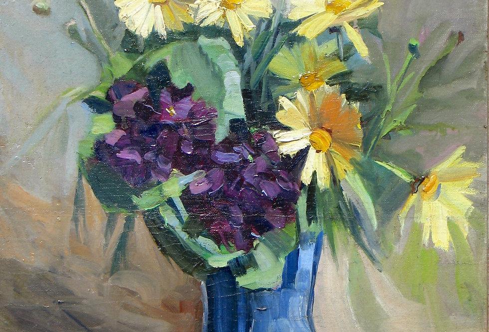 Bouquet de marguerite jaune