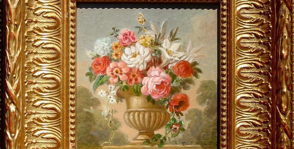 Bouquet vase médicis