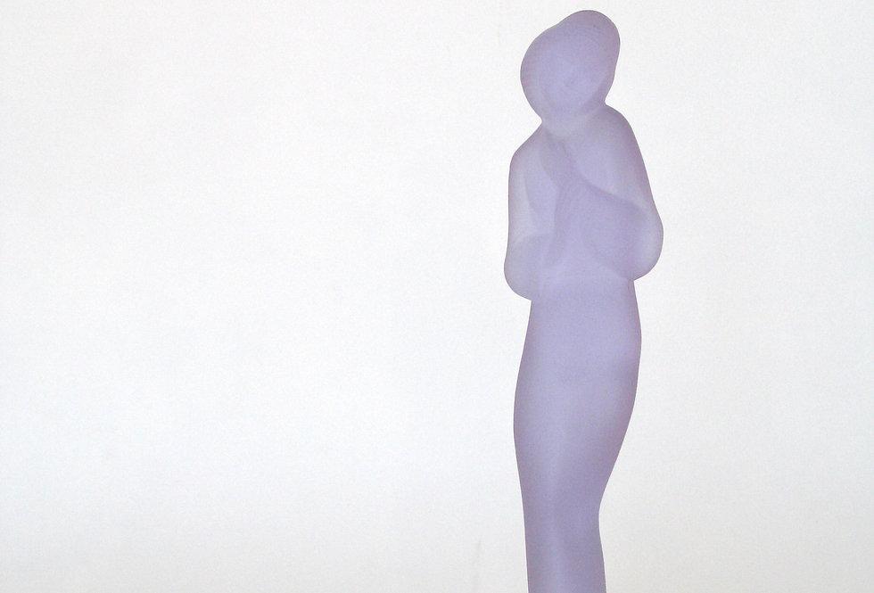 Femme violette