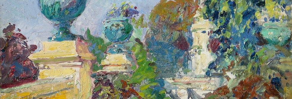 Jardin sur la côte d'Azur