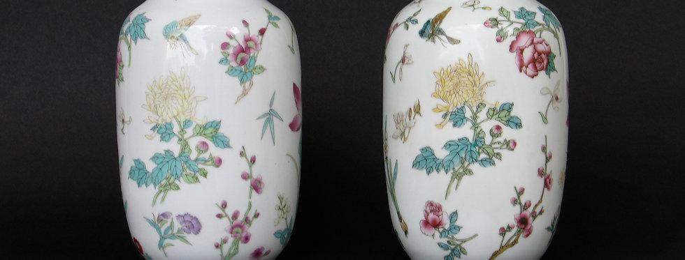 Paire de vase Japonais