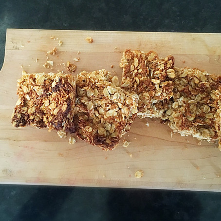 Banana, Coconut & Nut butter Flapjacks