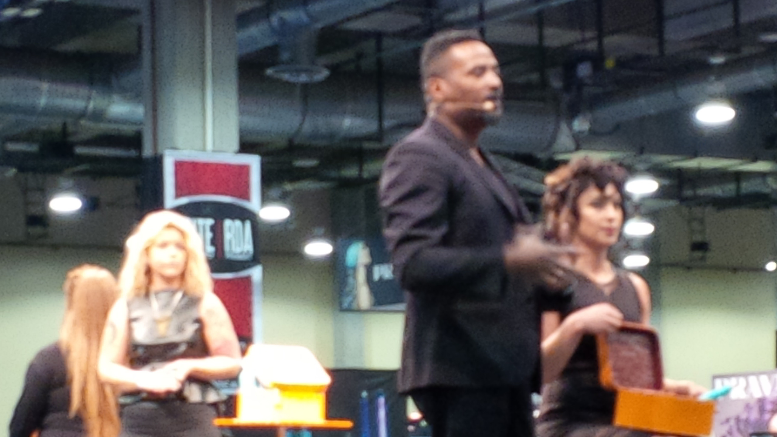 Emmett at Dallas Hair Show