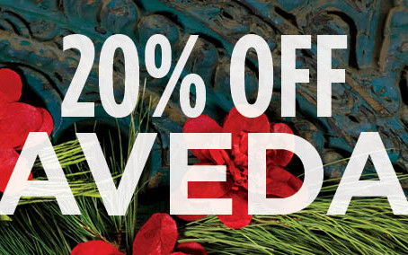 20% Off All Aveda Products