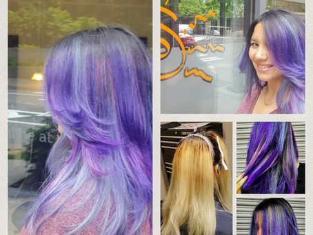 Multi Color and Fashion Color Hair