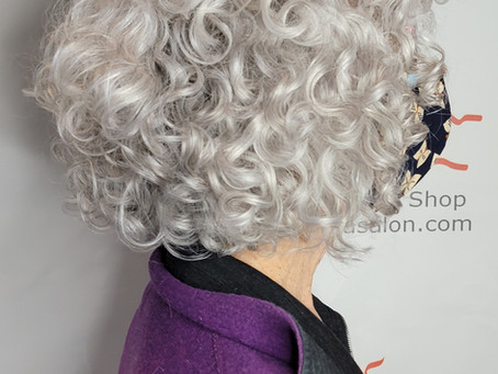 More Voluminous Curls