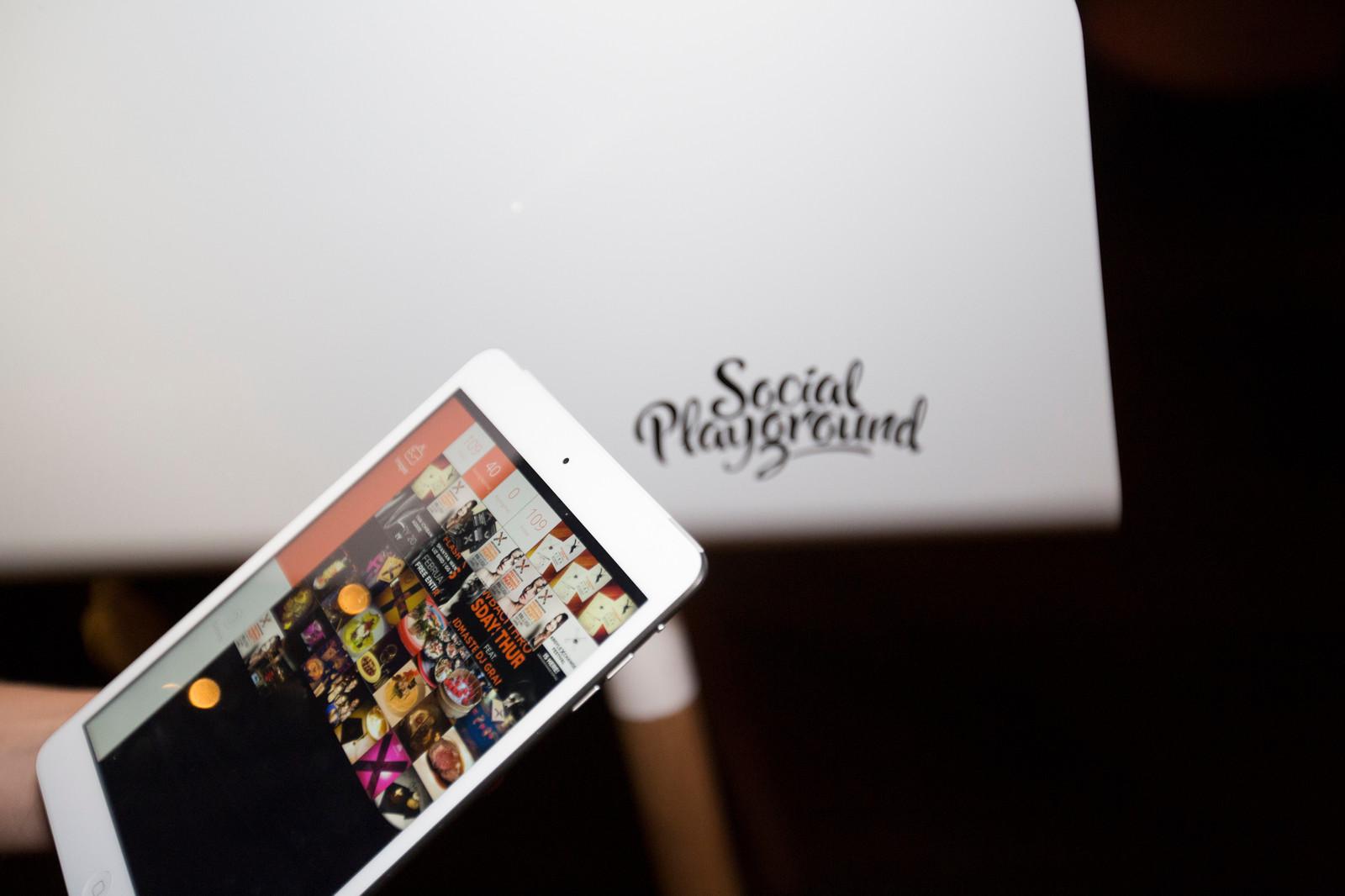 Instagram Printer Social Playground