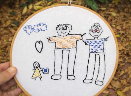 "Bordando ""Concepto Familia... o cómo viralizar el amor"""