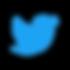 material twitter blue logo