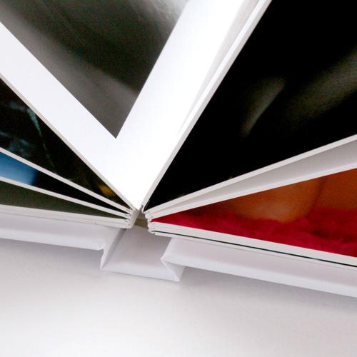 pages à plat luxe cartonnées