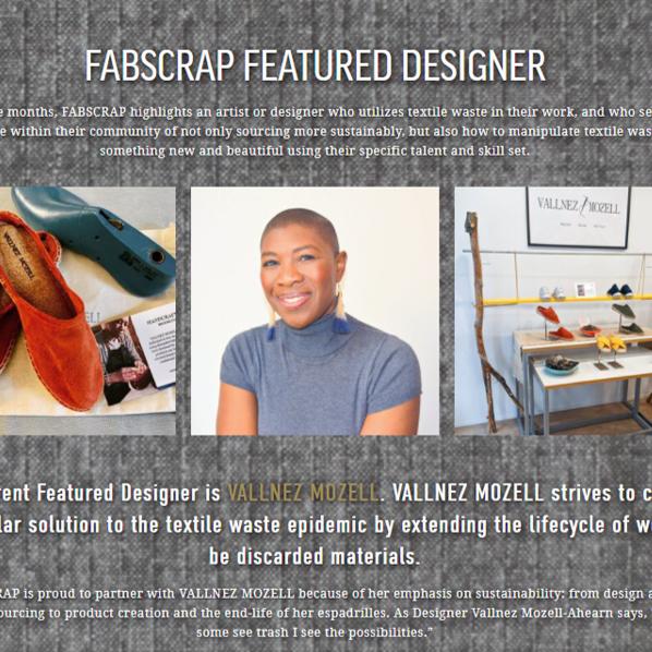 Featured Designer at FabScrap