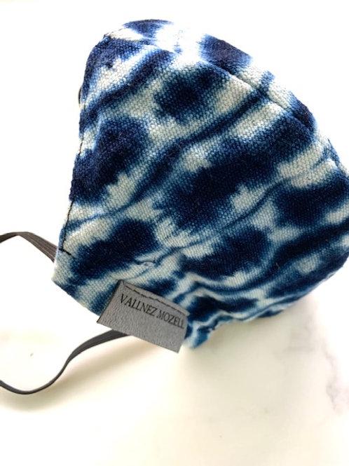 Shibori Tie Dye Mask