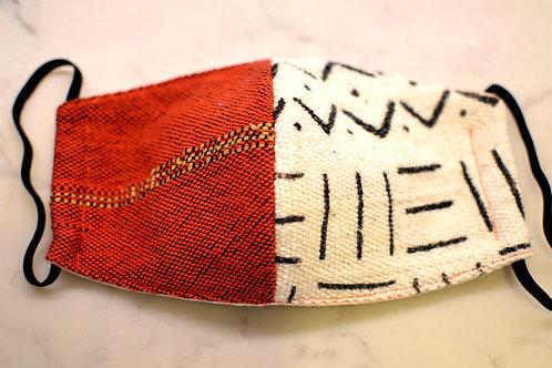 UNITY Face Masks - Mud Cloth/Orange
