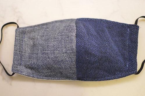 UNITY Face Masks - Blue Grey/Navy Blue