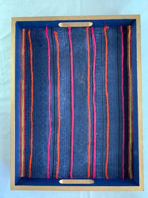 Decorative  Tray - Blue