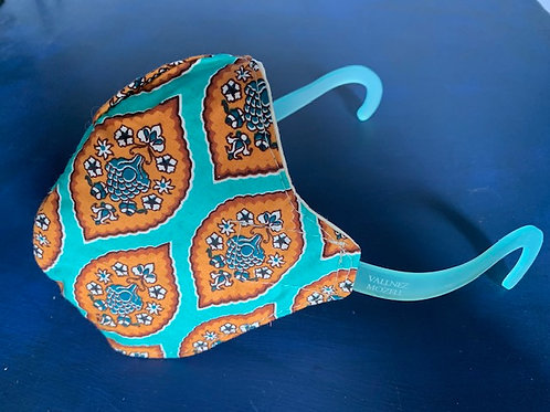 Mask with Temples -Zen Blue