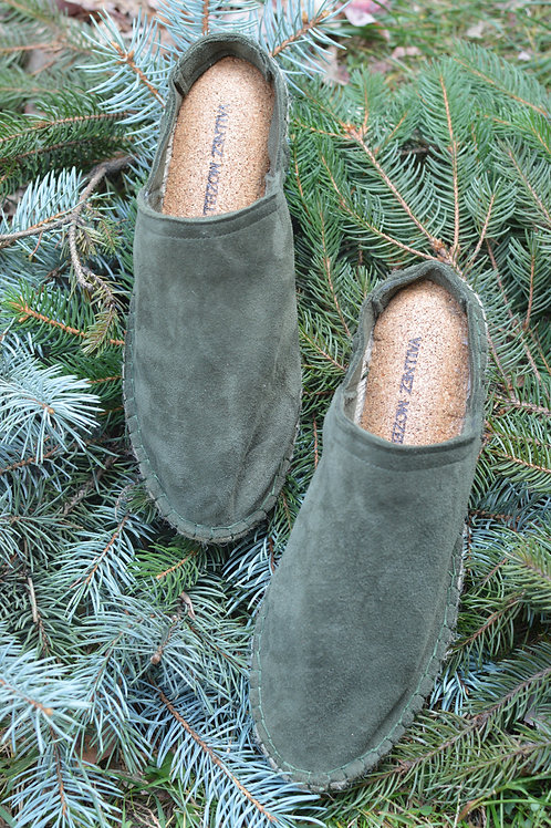 MOZELL Mules - Evergreen