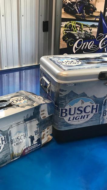 Busch Light Cooler