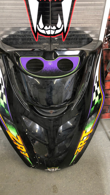 Arctic Cat ZRT Stock Decals