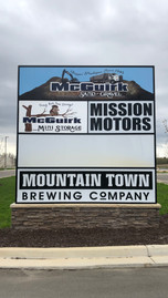 Multi-Business Sign