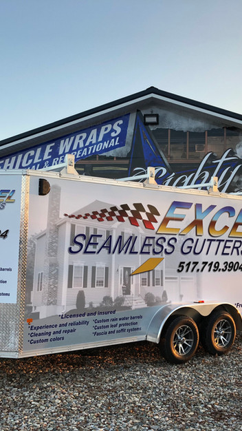 Excel Seamless Gutters