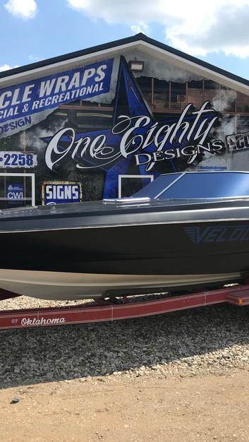 Velocity Boat Wrap