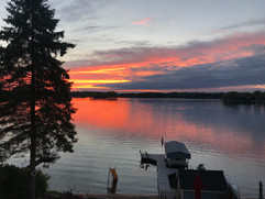 Sunset on Prior Lake