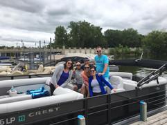Knotty Oar Marina Pontoon Rentals on Prior Lake!