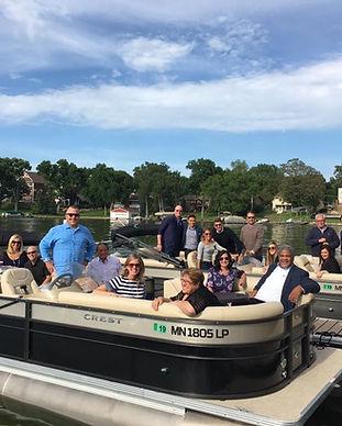 Knotty Oar Marina Pontoon Rentals on Prior Lake Minnesota