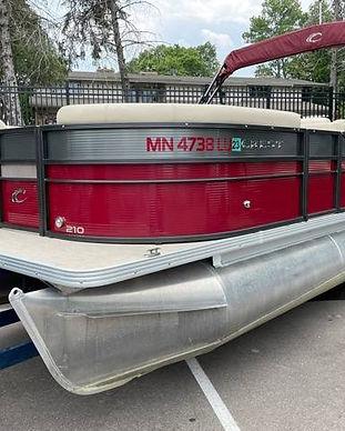 2018 Crest II 210 L used pontoon Knotty Oar Marina 1.jpg