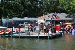 Knotty Oar Marina Fuel Dock!