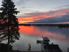 Sunset on Prior Lake!